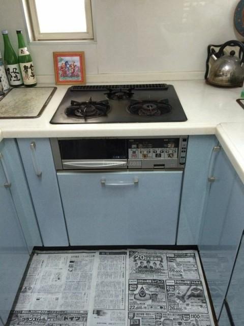 ハーマン食器洗乾燥機 FB4504PMSF ハーマンビルトインコンロ C3WL2PWAS6STESD