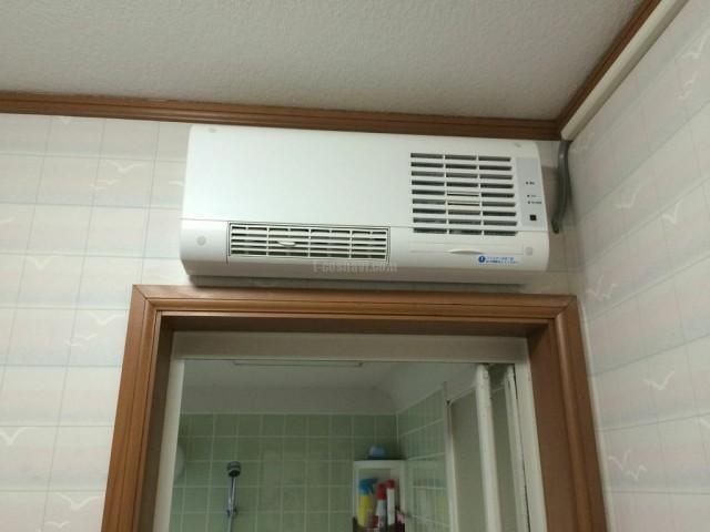 MAX浴室換気乾燥機BS-151H・洗面室暖房機BS-K150WL新規設置工事