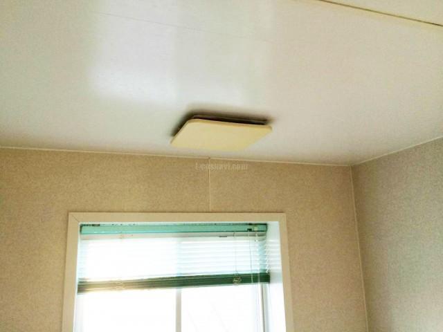 埼玉県春日部市 MAX浴室換気乾燥機BS-151H新規設置工事