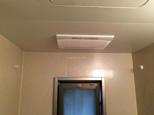 ベルポート和光弐番館-アルトピア浴室換気乾燥機 ABF-512DXからMAX BS-122HA 交換工事