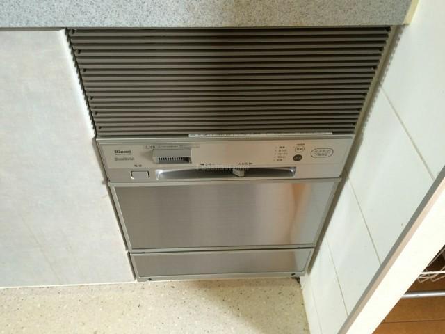 埼玉県川口市ルイシャトレ川口プレイズ サンヨー食器洗い乾燥機 DW-S23BR(K)の交換工事