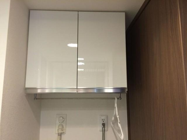 東京都江戸川区マイセット吊戸棚の取付工事