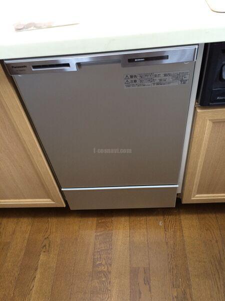 ナショナル NP-U45B2P1からパナソニック食器洗浄器 NP-45MD6S への交換工事