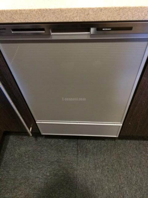 横浜市戸塚区 パークタワー東戸塚に設置されている日立食洗機のKF-P45T1SKの交換工事