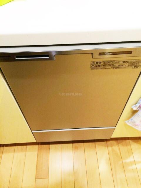 東京メガシティビルトイン食洗機 NP-P45FD1Pの交換工事