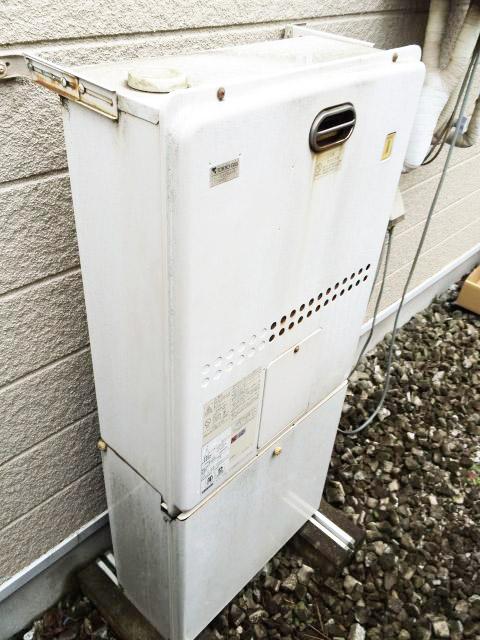 東京都練馬区石神井台 ノーリツ熱源機GH-1210・ノーリツエコジョーズ フルオート GT-C2452AWX-2BL交換工事を行いました。