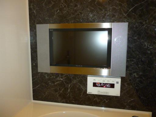 リンナイ 浴室テレビ DS-1500HV【YUGA】 新規取り付け工事