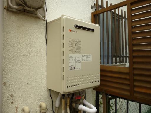 ノーリツ ガスふろ給湯器 GT-2050SAWX BL 東京ガス(ノーリツ)社製給湯器 GT-1601SAWXからの交換工事