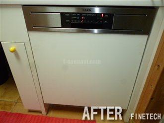 AEG 食器洗い機  F88060IMOP(60cm) AEG  OKO-FAVORIT  8081 Iからの交換工事
