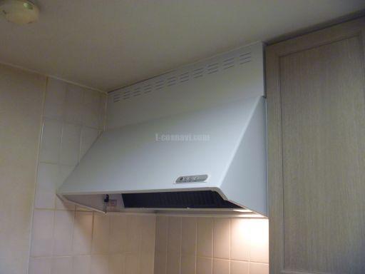 富士工業レンジフード SCR-3R-902SI 交換工事