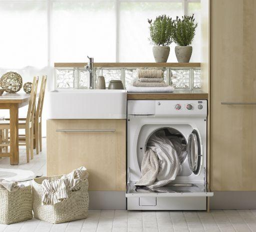 ASKO(アスコ)全自動洗濯機W6232・回転式乾燥機T712C 取付工事