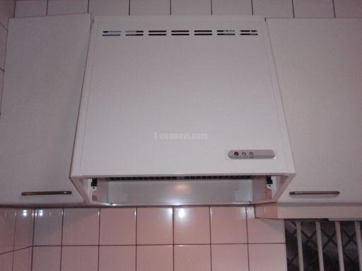 富士工業 レンジフード FVM-603L(ホワイト) 交換工事