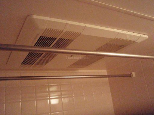 三菱電機 浴室換気乾燥機 V-121BZ-BL 交換工事