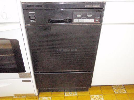 Panasonic食器洗浄機NP-5000BからMiele食器洗浄機G1502SCuへの交換工事