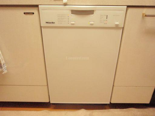 Panasonic社製食器洗浄機NP-P45X1S1からMiele社製食器洗浄機G1102SCuへの交換工事