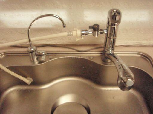シーガルフォー ビルトイン浄水器 X1-KA14  TOTO 分岐水洗 EUDB904 交換工事