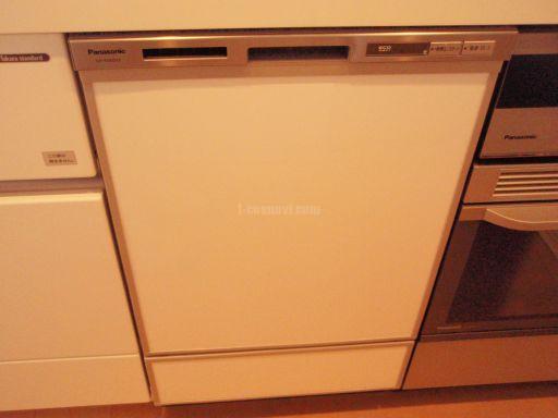 Panasonic IHクッキングヒーターKZ-JT75VS・ビルトイン電気オーブンNE-DB701P・食器洗浄機NP-45MD5S 新規取付工事