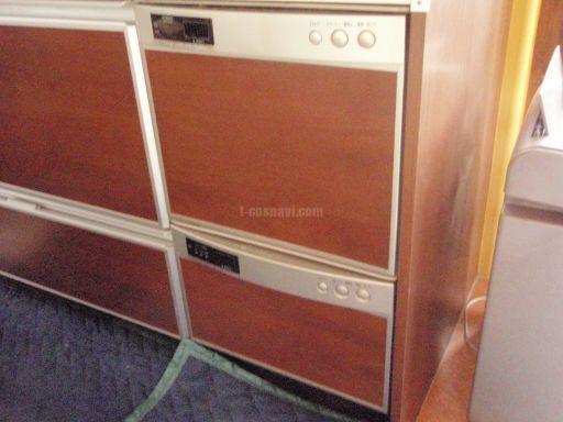Miele 食器洗浄機 G1502SCu(ステンレス)  日立社製食器洗浄機からの交換工事