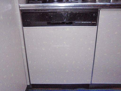 Miele 食器洗浄機 G1534SCu(ステンレス) ナショナルNP-9220BMからの交換工事