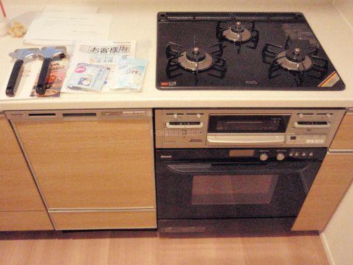 Panasonic 食器洗浄機 NP-45MD5S+ドアパネル リンナイ ビルトインオーブン RSR-S51C-B 新規取付工事