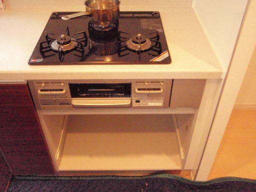 Panasonic 食器洗浄機 NP-45MD5S と リンナイ ビルトインオーブン RBR-S51E-SV の新規取付工事
