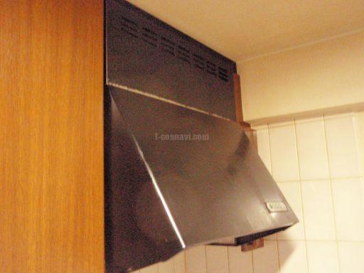 富士工業 レンジフードBDR-3HE-601BK と Panasonic 天井埋込形換気扇FY-17B7(トイレ)の交換工事