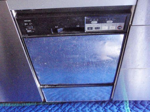 三菱電機 食器洗浄機 EW-CP45S NP-4500Bからの交換工事