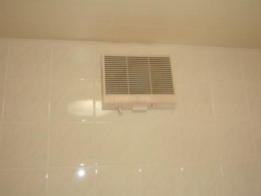 三菱電機 壁掛け型浴室換気乾燥機 V-161BKA-RN 換気扇からの交換工事