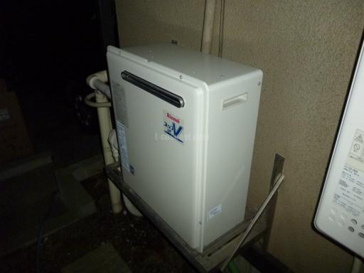 リンナイ ガスふろ給湯器 RUF-A2400AG ノーリツ社製給湯器 GT-243ARからの交換工事