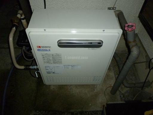 ノーリツ ガスふろ給湯器 GRQ-C2042SAX BL(ecoジョーズ) ノーリツ給湯器GQR-2012SAからの交換工事