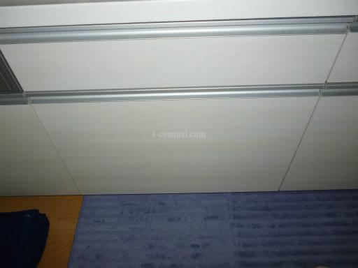 Panasonic 食器洗浄機 NP-45MD5S キャビネットを分割しての新規取り付け工事