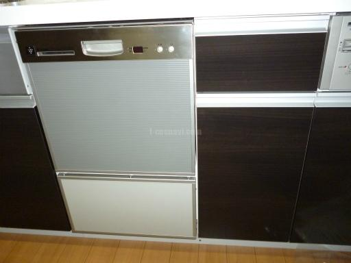 リンナイ 食器洗浄機 RKW-402LP-ST キャビネットを分割しての交換工事