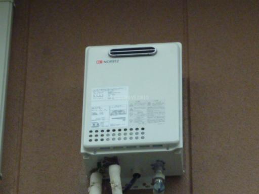 ノーリツ ガス給湯器 GQ-1637WS 東京ガス社製給湯器からの交換工事