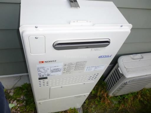 ノーリツ ガス温水暖房付ふろ給湯器 GTH-C2448AW6H BL 交換工事