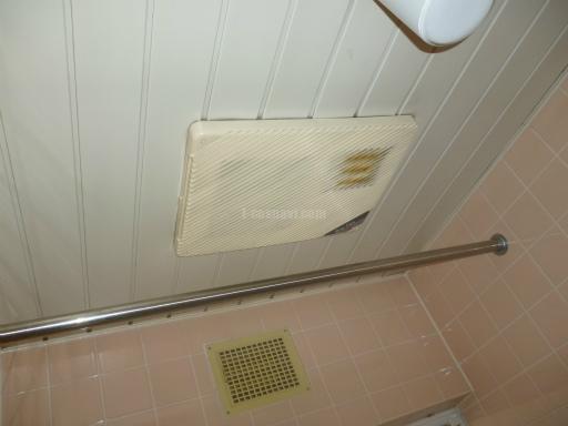 三菱電機 浴室換気乾燥機 V-141BZ MAX社製 浴室換気乾燥機 BS-550からの交換工事