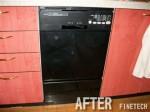 ハーマン 食器洗浄機 FB4504PF 交換工事