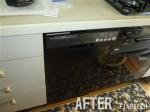 ハーマン ビルトインコンロ C3WK2RJTQ1 / 食器洗浄機 ハーマン FB4504PF 交換工事