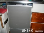 Panasonic 食器洗乾燥機 NP-45MD5S 交換工事