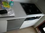 パナソニック 食器洗乾燥機 NP-45MD6S / ハーマン ビルトインコンロ C3WL3PWAS 交換工事