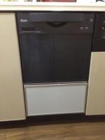 リンナイ 食器洗乾燥機 RKW-C401C(A)-SV 交換工事