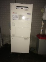 ノーリツ 給湯器 GTH-C2447AW3H-2 BL 交換工事