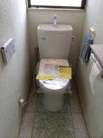 TOTO QRピュアレスト 便器+手洗い付タンク 交換工事