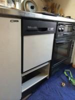 リンナイ 食器洗乾燥機 RKW-403C 交換工事