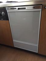 Panasonic 食器洗乾燥機 NP-45MD6S / 三菱レイヨン浄水器 F903ZC 設置工事