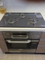 Panasonic 食器洗乾燥機 NP-45MD6S / リンナイ ガスオーブンレンジ RBR-S14C-ST 交換工事