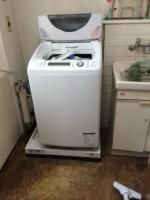 TOTO 洗濯パン本体 PWP740W 交換工事