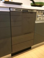 Panasonic 食器洗乾燥機 NP-45MD6W 設置工事