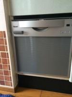 リンナイ 食器洗乾燥機 RKW-C401C(A)-SV 設置工事