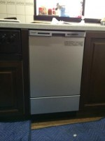Panasonic 食器洗乾燥機 NP-45MC6T 交換工事