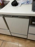 松戸上本郷ハイライズ パナソニック食器洗浄器 NP-45MD6S新規取付工事